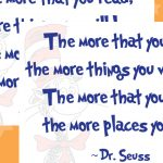 Dr Seuss – Reading Quote Poster