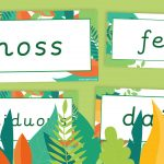 Flowering Plants Vocabulary Labels