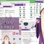 x6 Times Tables Magician Activity Pack