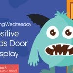 Wellbeing Wednesday Spring Week 11 Positive Words Door