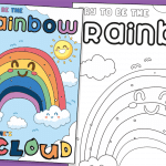 Try to be the Rainbow… – Window Poster & Colouring Activity