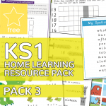 Key Stage One KS1 Home Learning Resource Pack 3