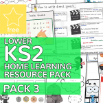 Lower Key Stage Two KS2 Home Learning Resource Pack 3