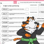 Editable 6 Digit Partitioning Activity Sheets