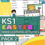 Key Stage One KS1 Easter Home Learning Activity Pack 2