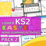 Lower Key Stage Two KS2 Easter Home Learning Activity Pack 2