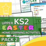 Upper Key Stage Two KS2 Easter Home Learning Activity Pack 2