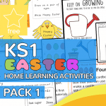 Key Stage One KS1 Easter Home Learning Activity Pack 1