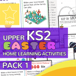Upper Key Stage Two KS2 Easter Home Learning Activity Pack 1