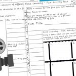 Home Learning – Film Activity Pack