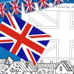 VE Day – Union Jack Flag Colouring