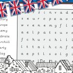 VE Day – Word Search