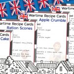 VE Day – War Time Recipe Cards