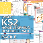 Lower Key Stage Two KS2 Home Learning Resource Pack 8