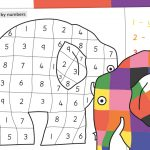 Elmer Colour by Numbers