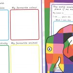 Elmer Be Yourself Wellbeing Activity