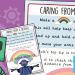Buddy Bots – Caring From A Distance Poem Poster