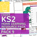 Lower Key Stage Two KS2 Home Learning Resource Pack 9