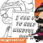 Wellbeing Wednesday Summer Week 6 Mindful Colouring