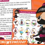 Wellbeing Wednesday Summer Week 6 Task Card and Matching Activity