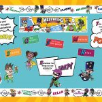 Superheroes Wellbeing Wednesday Display Pack