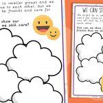 KS2 We Are Still Friends Wellbeing Journal Activity