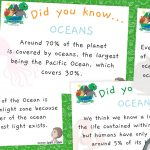 World Oceans Day – 'Did You Know?' – Fact Cards