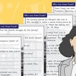 Who Was Anne Frank Comprehension With Questions