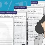 A Day In The Life Of Anne Frank Diary Entry Activity