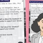 Anne Frank Diary Extract With Questions – Going Into Hiding