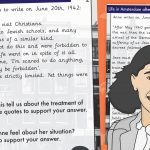 Anne Frank Diary Extract With Questions – Life In Amsterdam