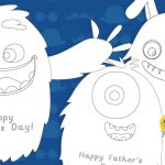 Father's Day Monster Card Pack