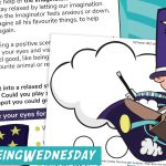 Wellbeing Wednesday Summer Week 9 Task Card and Matching Activity