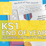 KS1 Key Stage One End of Year Journal Activity Pack