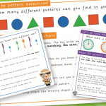 EYFS Maths Challenge Pack 4