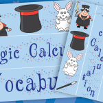 Magical Maths Vocab Display Border