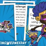 Wellbeing Wednesday Summer Week 11 Collectable Character Card Pack