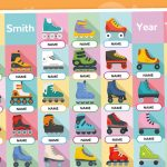 Editable Class Of 2020 End Of Year Gift (Rollerblades)