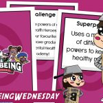 Wellbeing Wednesday Summer Week 12 Collectable Character Card Pack