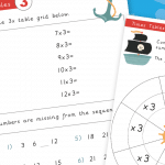 3x Times Tables Mini Activity Pack