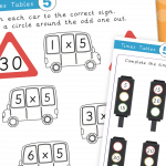 5x Times Tables Mini Activity Pack