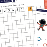 8x Times Tables Mini Activity Pack