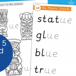 Phase 5 Phonic Sound UE Colour Draw And Write Activity