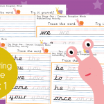 Key Stage 1 Week 1 Handwriting Practice Pack