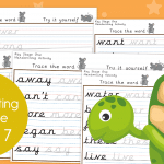 Key Stage 1 Week 7 Handwriting Practice Pack