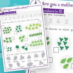 Year 1 Numbers To 10 Maths Whizz Activity