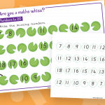 Year 1 Missing Numbers To 20 Maths Whizz Activity