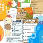 Take Back Your Summer EYFS KS1 Week 1 Meet Your New Class Pack