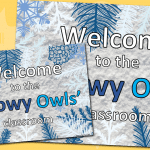 Editable EYFS And KS1 Winter Door Sign