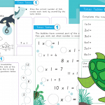 1 Times Tables Activity Worksheet Pack